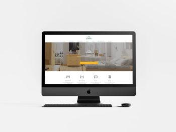 Réalisation du site internet WordPress et Woocommerce avec référencement naturel pour Aléna à Montpellier